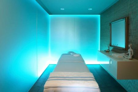 salle de massage - Sands Point Residence par Narofsky Architecture - Long Island, Usa