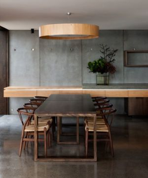salle de séjour - Home Overhanging par MGArchitects - Tasmanie, Australie