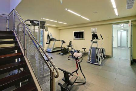 salle de sport - West Bellevue House - Washington, USA