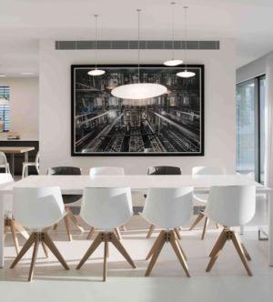 salle séjour - Aluminum-Home par Studio-de-Lange - Kfar-Shmaryahu, Israël