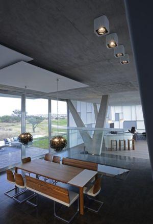 salle séjour - Campanario-2 par Axel Duhart Arquitectos - Santiago-Querétaro, Mexique