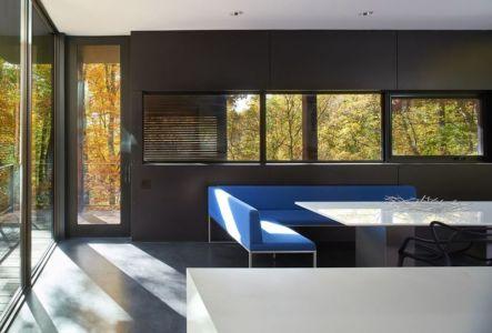salle séjour - Hills-House par Robert M. Gurney - Maryland, USA