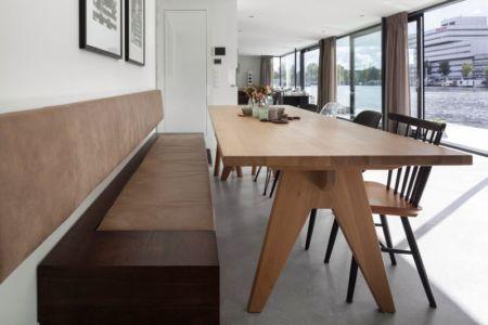salle séjour - Watervilla par +31ARCHITECTS - Amsterdam, Pays-Bas