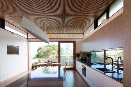 salle séjour & cuisine - Queenscliff-Design par Watershed Design - Sydney, Australie