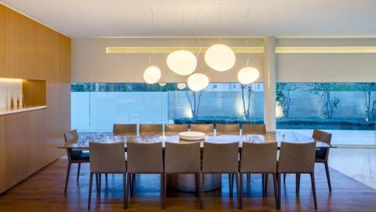 salle séjour & déco illuminée - Club-Residence par Migdal Arquitectos - Mexico, Mexique