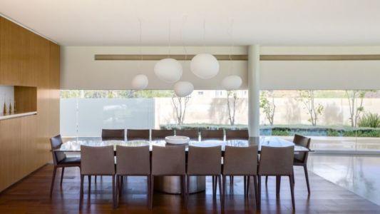 salle séjour & déco plafond - Club-Residence par Migdal Arquitectos - Mexico, Mexique