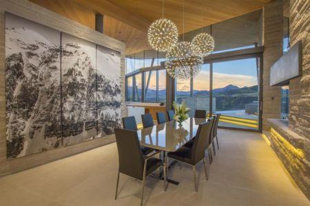 salle séjour - home-Colorado par Bill Poss - Colorado, USA