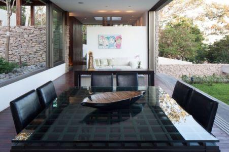 salle séjour & salon - Garden-House par Cincopatasalgato - El Salvador