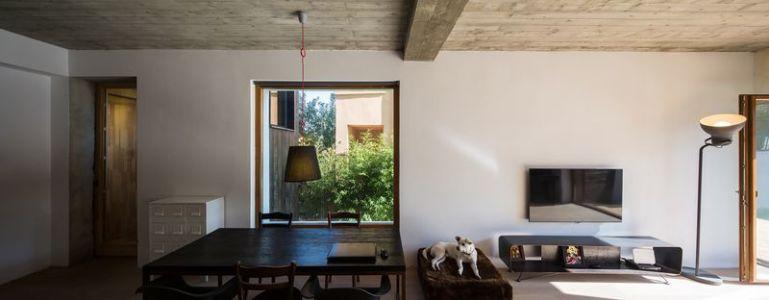 salle séjour & salon - LAMA-House par LAMA Arhitectura - Bucarest, Roumanie