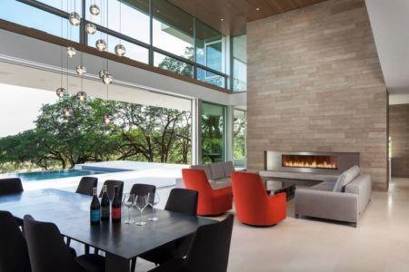 salle séjour & salon - Vineyards-Residence par Swatt Miers Architects - Californie, USA