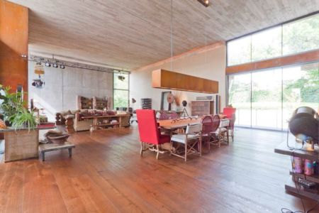 salle séjour & salon - villa-madrid par Modern Homes - Madrid, Espagne