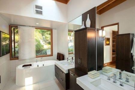 salle de bains - saturna-island - Colombie Britannique, Canada