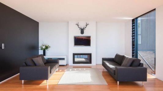 salon - 25A Duncansby par Iconic Homes - Whangaparaoa, Nouvelle-Zélande