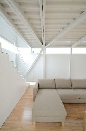 salon - Boundary House par Niji Architects - Tokyo, Japon