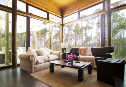 salon - Casa Tunquén par CO2 Arquitectos - Vaparaiso, Chili