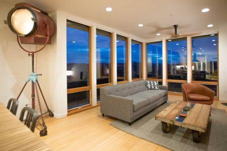 salon - Cloverdale par Elemental Architecture - Usa - Jaime Kowal Photography