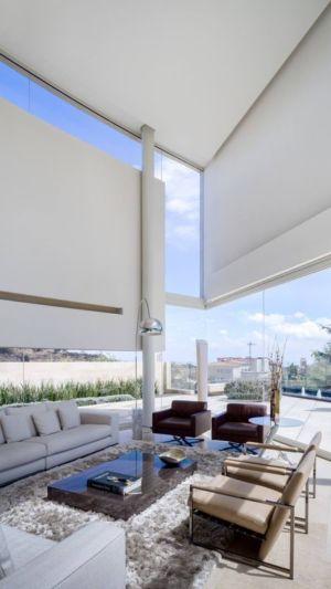 salon - Club-Residence par Migdal Arquitectos - Mexico, Mexique