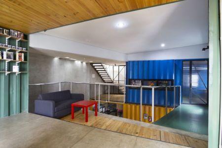 salon - Container-Urban par Atelier Riri - Bekasi, Indonesie