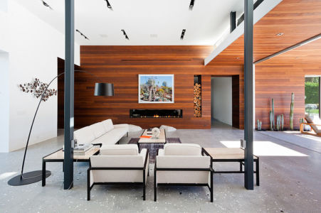 salon - F-5 Residence par Studio AR+D Architects - Indian Wells, Usa