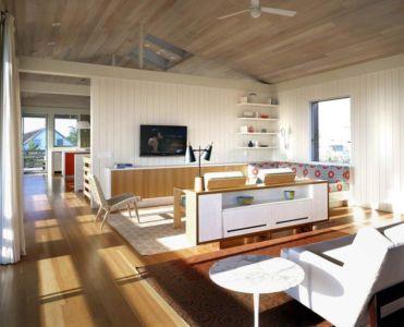 salon - Fire-Island-House par John Butterworth - New-York, USA