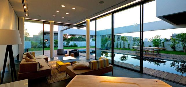salon - Five Star Caesarea Dream Home par Gal Marom Architects - Israel