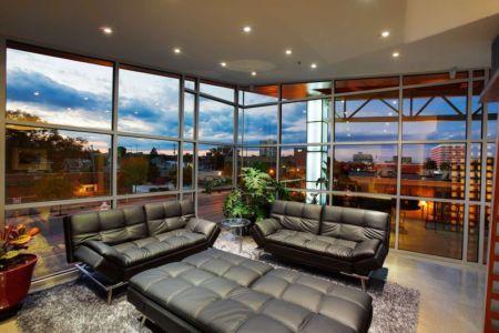 salon  - Flute house par The Think Shop Architects - Royal Oak , Usa