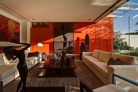 salon - House-S par Lassala Elenes Arquitectos - Zapopan, Mexique