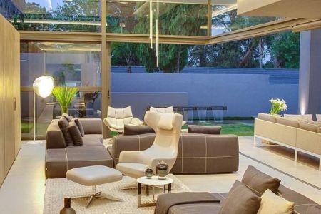 salon - House Sar par Nico van der Meulen Architects - Johannesbourg, Afrique du Sud