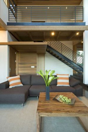 salon - HudsonPanos Residence par Swatt & Miers Architects - Healdsburg, Usa