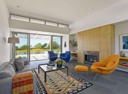 salon - In-Out par Wnuk Spurlock Architecture - Stinson Beach, Californie, USA