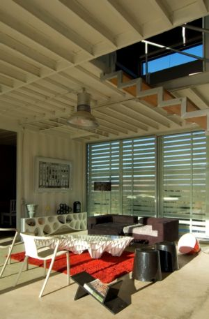 salon - Infiniski Manifesto House par james&mau arquitectura  - Curacaví, Chili - photo Antonio Corcuera