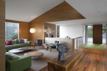 salon - Kentfield Residence par Turnbull Griffin Haesloop Architects - Kentfield, Usa