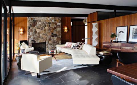 salon - La Cañada Residence par Jamie Bush & Co. - Sierra Madre, Usa