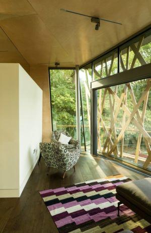 salon - Maggie's Oxford  par Wilkinson Eyre Architects - Oxford, Royaume-Uni