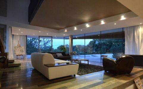 salon - Maison Spirale par Portal Thomas Teissier Architecture - Catelnau Le Lez, France