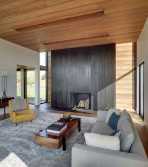 salon - Mothersill par Bates Masi Architects - Water Mill, Usa