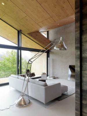 salon - Mountain-View House par SoNo arhitekti - Kitzbuehel, Slovénie