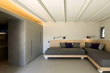 salon - Notre Ntam' Lesvos Residences par Z-level à Agios - Fokas, Grèce