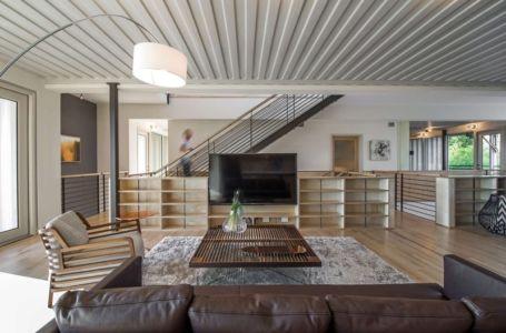 salon - PV14 House par M Gooden Design - Dallas, Usa
