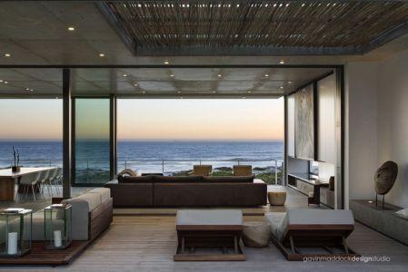 salon - Pearl Bay Residence par Gavin Maddock Design Studio - Yzerfontein, Afrique du Sud