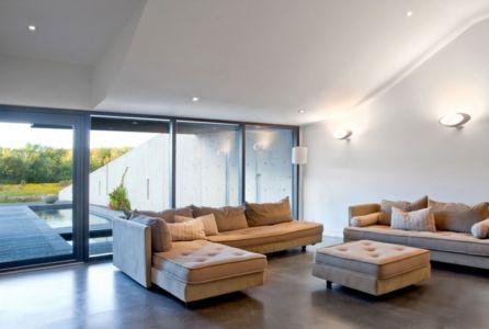 salon - Port Hope House par Teeple Architects - Ontario, Canada