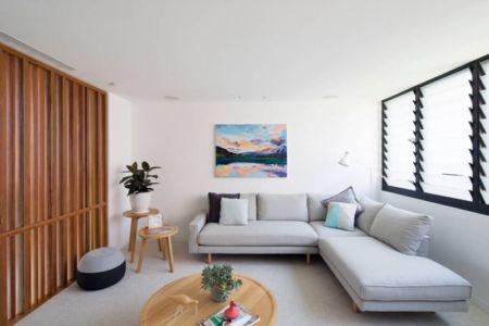 salon - Queenscliff-Design par Watershed Design - Sydney, Australie