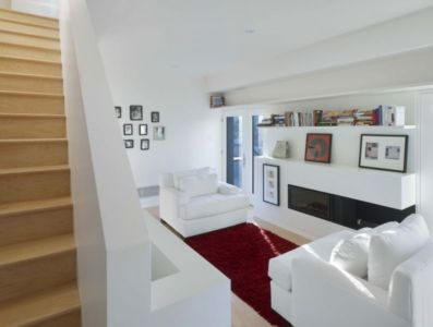 salon - Renovates-Private-Residence par Dpai Architecture - Hamilton, Canada