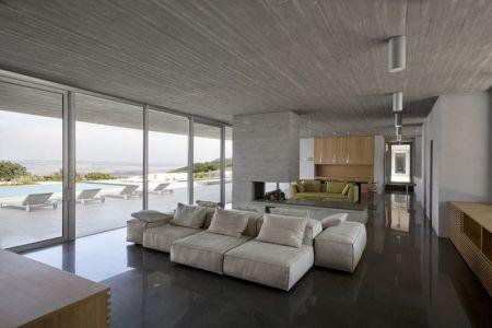 salon - Residenza Privata par Osa Architettura - Basilicata, Italie