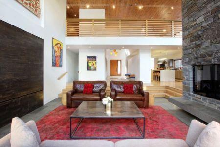 salon - RiverBanks par Foz Design - Saugerties, Usa