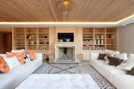 salon - Rougemont-Residences Plusdesign - Rougemont, Suisse