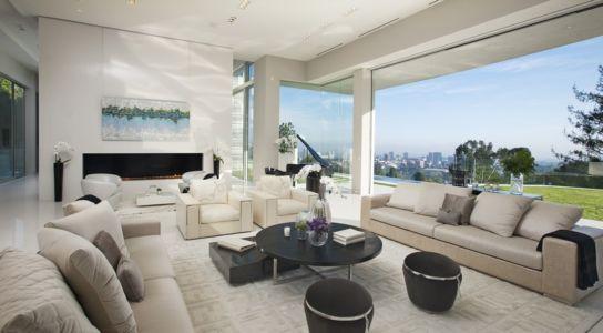 salon - Sarbonne par McClean Design - Los Angeles, Usa