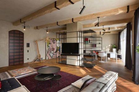 salon-TV & séjour - Residence-BO par Baraban+design studio - Kiev, Ukraine