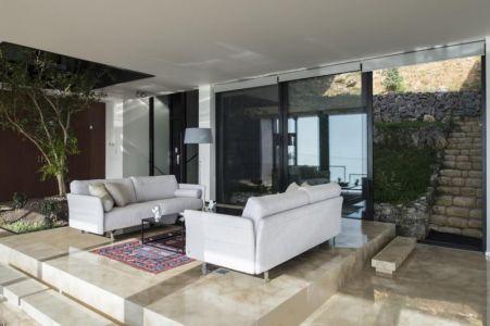 salon - Tahan Villa par BLANKPAGE Architects - Kfour, Liban