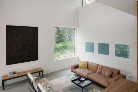 salon - Torsby III par Max Holst Arkitekt - Stockholm, Suède